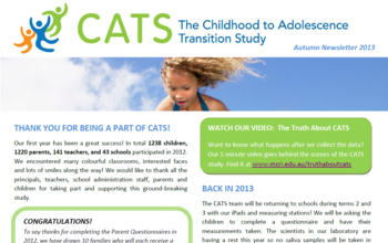 CATS Newsletter 2013