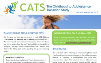 CATS Newsletter 2013