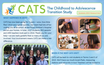 CATS Newsletter 2015